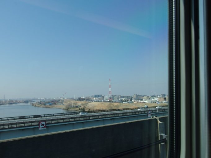 冬の荒川東京脱出!