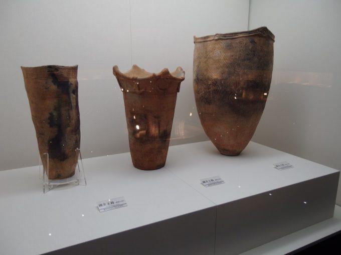 三内丸山遺跡さんまるミュージアム縄文式土器