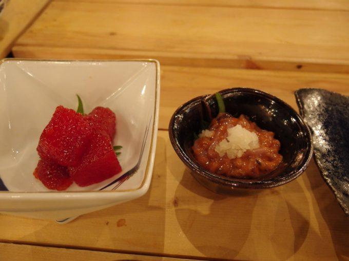 青森郷土料理津軽三味線りんご箱筋子といかの塩辛