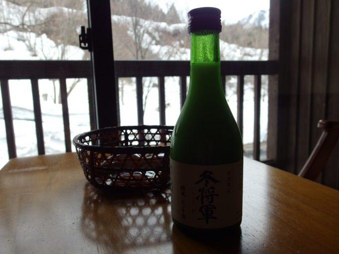 奥湯沢で味わう冬将軍純米にごり