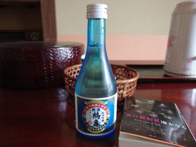奥湯沢で味わう越後鶴亀純米吟醸
