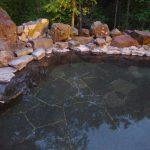 秘湯中の湯温泉旅館露天風呂