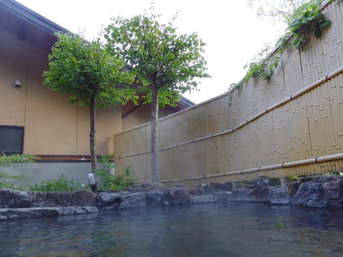 秘湯中の湯温泉旅館で味わう初夏の朝風呂