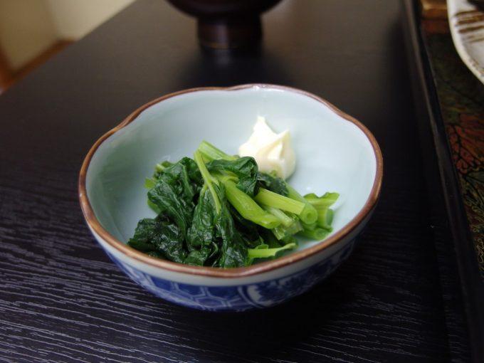 白骨温泉かつらの湯丸永旅館サービスの山菜うとぶき