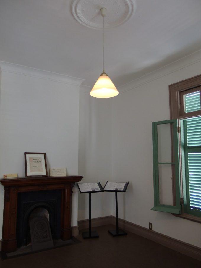松本旧司祭館歴史感じる室内