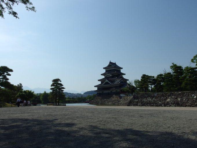 離れがたき雄姿を誇る国宝松本城