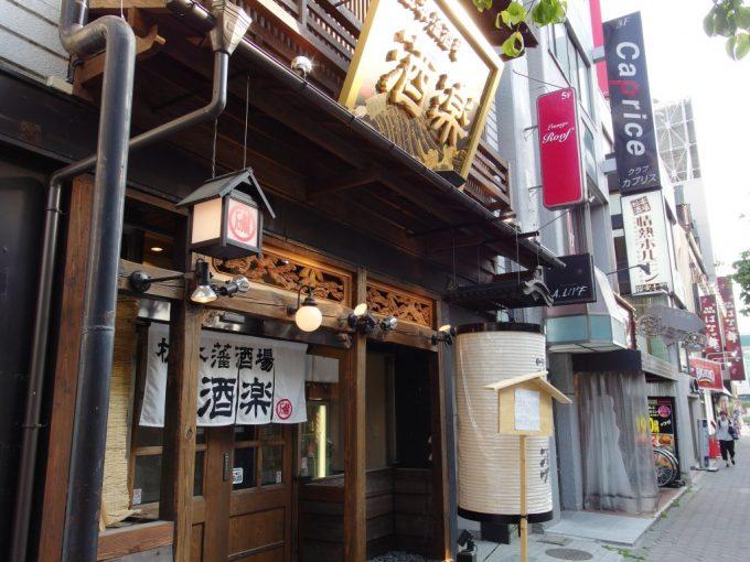 松本藩酒場酒楽