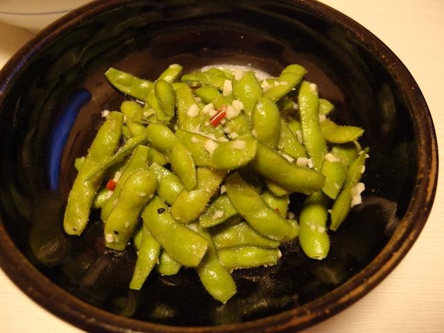にんにく味覇枝豆