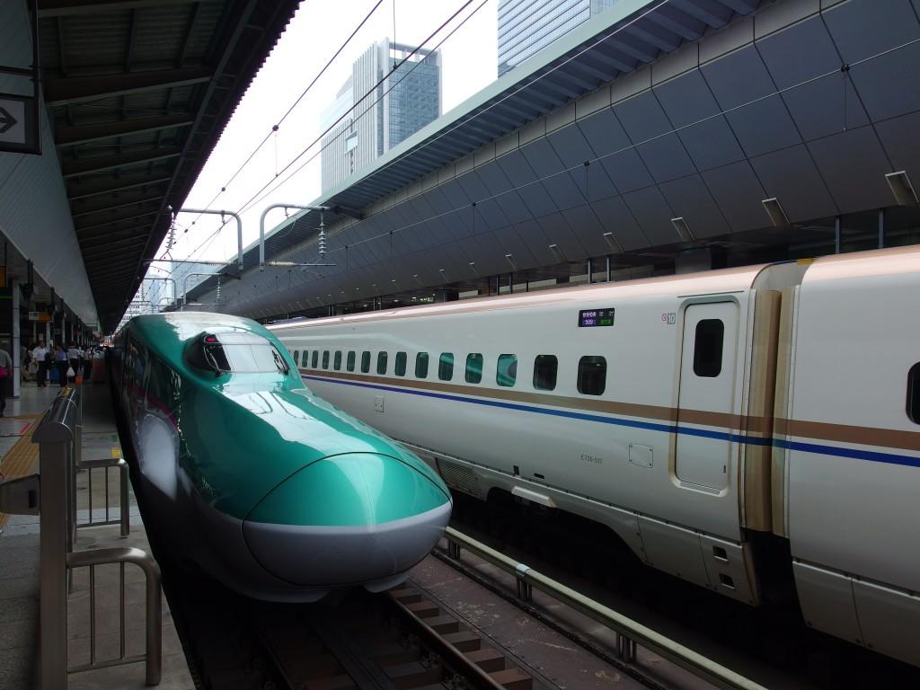 東京駅東北新幹線E5系やまびこ号