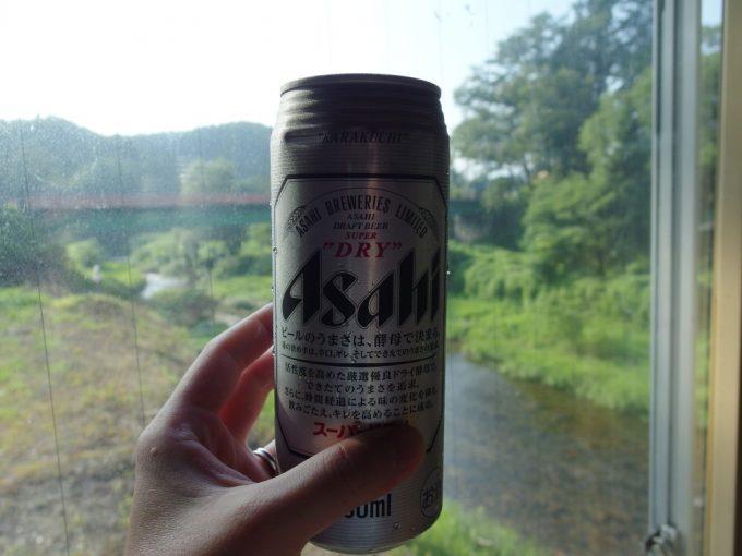 赤倉温泉湯守の宿三之亟湯上がりに極上の冷たいビール