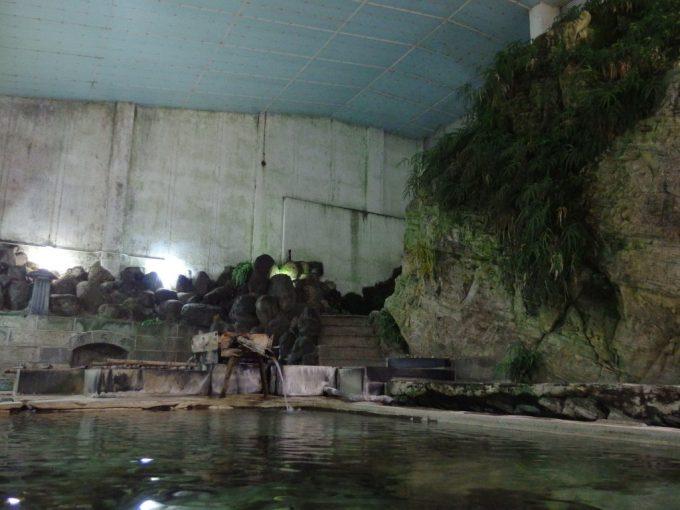 赤倉温泉湯守の宿三之亟植物園ジャングルの様相夜の浴場