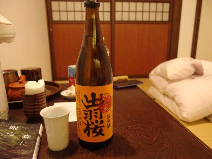 強首の夜のお供に出羽桜出羽の里純米酒
