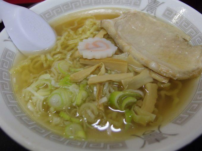 弘前中央食品市場山田商店の中華そば