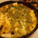 しょうが香る中華風めかぶ温豆腐・レバーとなすのグリル粒マスタードおろしぽん酢