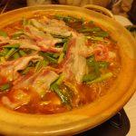 サッポロ一番みそキムチ鍋