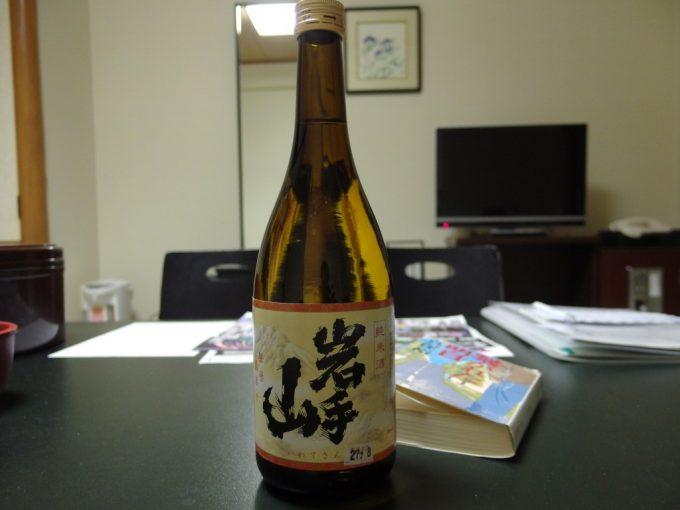 八幡平夜のお供に菊の司岩手山純米酒