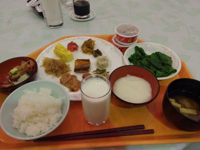 八幡平ロイヤルホテル朝食