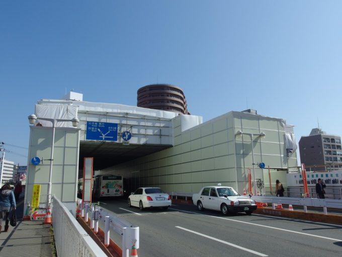 改修工事中の盛岡開運橋