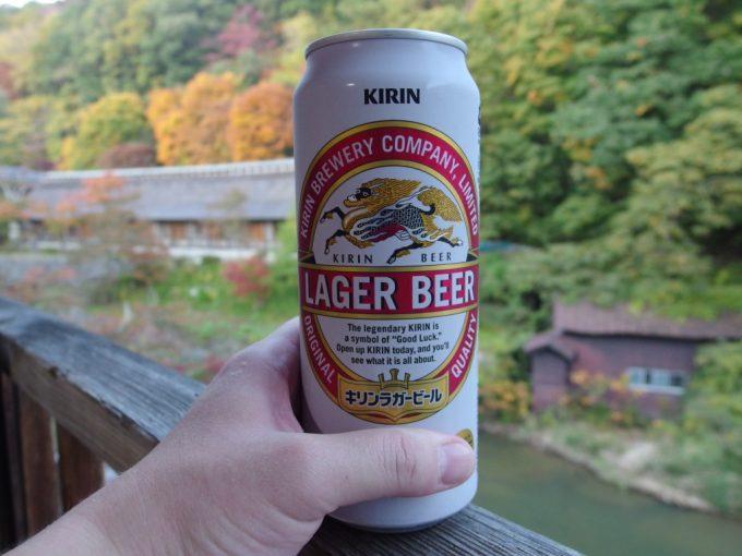大沢温泉自炊湯治湯上がりに味わうビールと三年振りの空気感