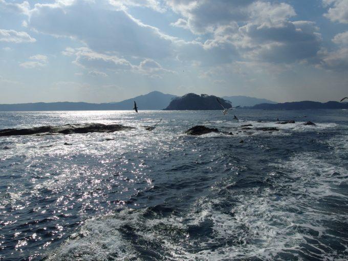 思いっきり揺れるみやこ浄土ヶ浜遊覧船