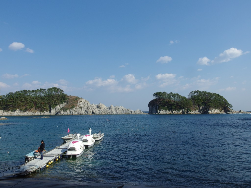 浄土ヶ浜さっぱ船桟橋