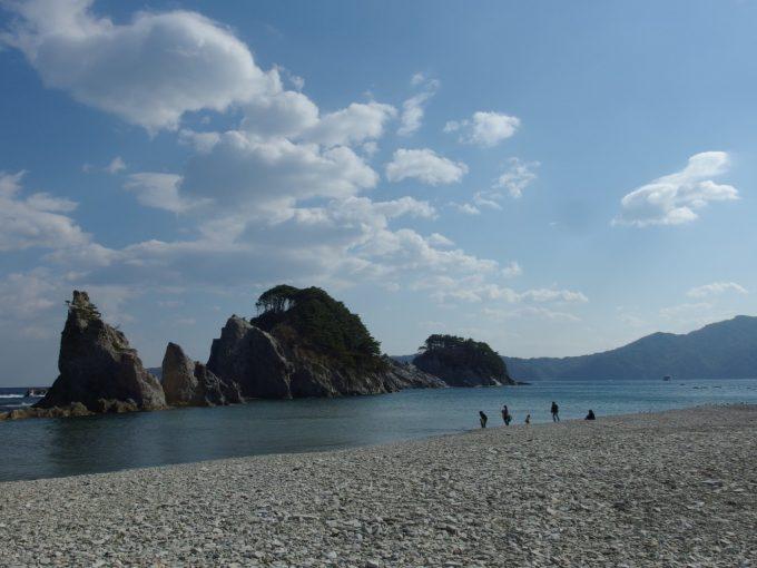 初めて訪れた憧れの浄土ヶ浜