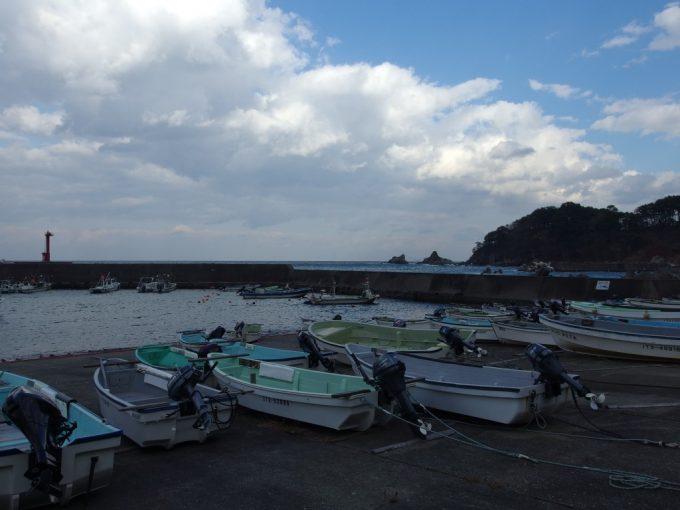 堀内の漁港