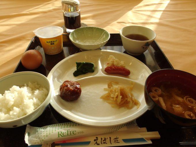 国民宿舎えぼし荘朝食