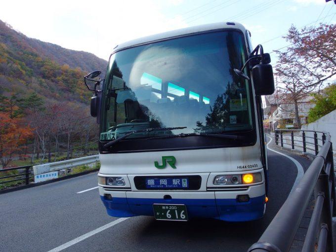 JRバス東北龍泉洞発盛岡駅行き