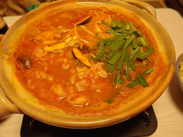 キムチトマトカレー鍋