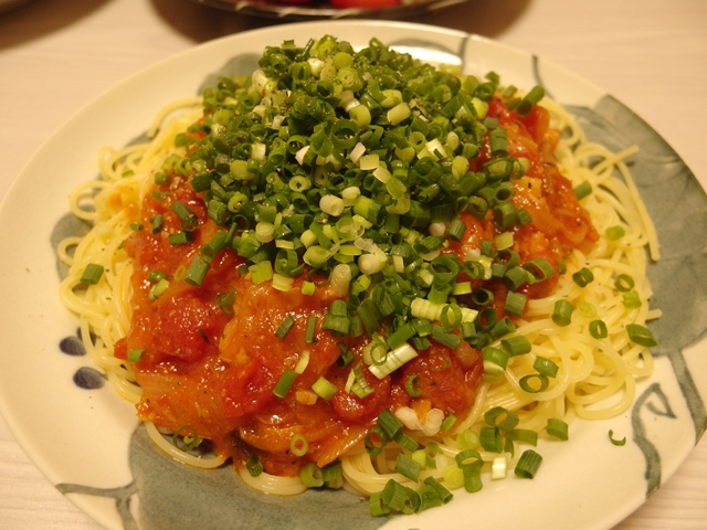 しゃぶしゃぶリメイク!白菜のトマトソースパスタ