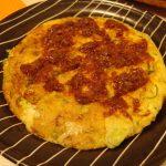 長芋のふんわり焼き・菜の花入り和風ポテサラ