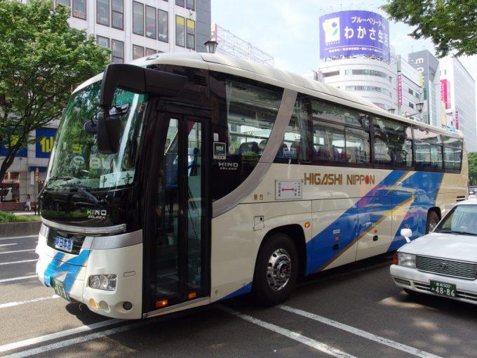 東日本急行バス平泉線中尊寺行き