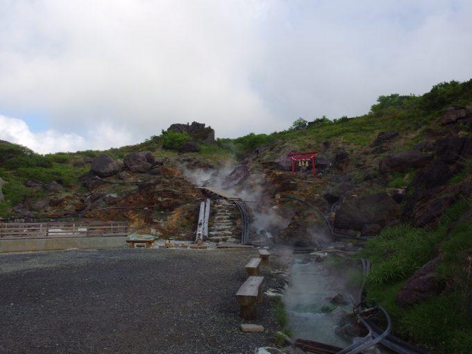 須川高原温泉から始まる栗駒山への登山道