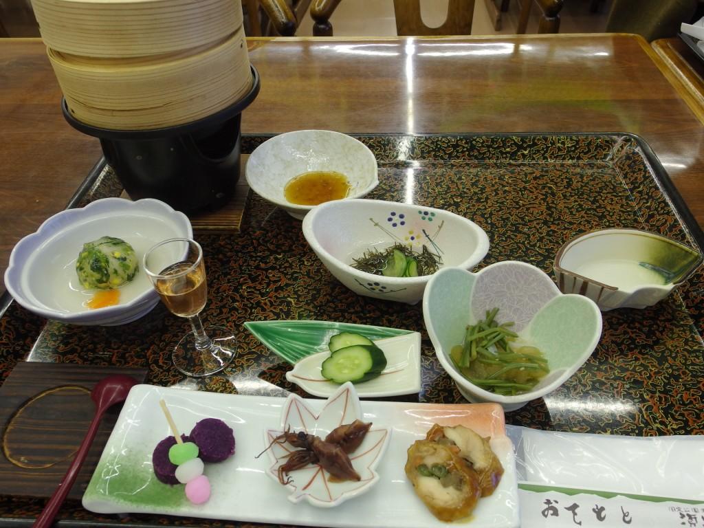 須川高原温泉1日目夕食