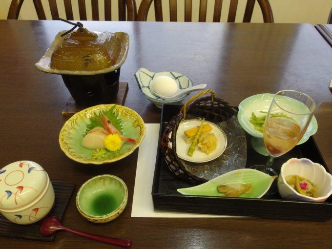 須川高原温泉2日目夕食