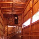 鷹泉閣岩松旅館味わい深い混浴露天風呂への階段