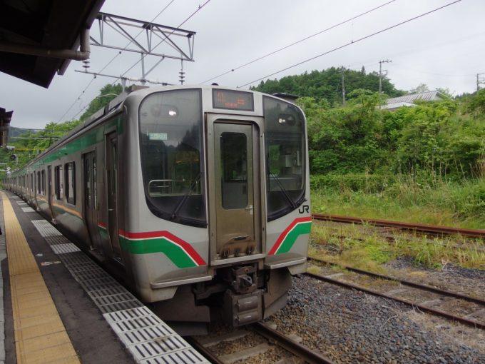 日本の鉄道交流電化発祥の地作並駅から仙山線で仙台駅へ