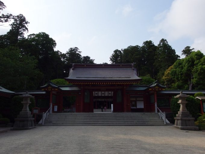鹽竈神社横の志波彦神社