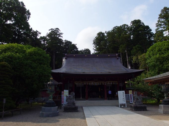 農業の神様志波彦神社