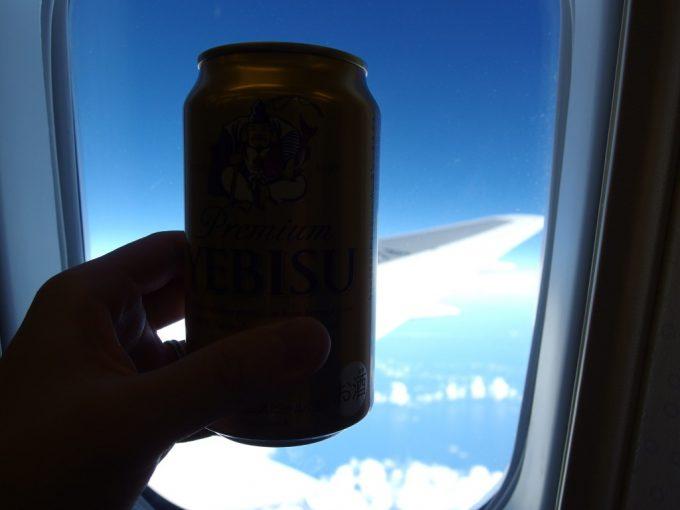 全日空機内販売でヱビスビールを