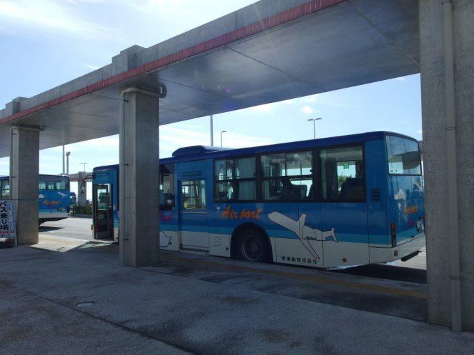 南ぬ島石垣空港から東運輸バスで石垣島離島ターミナルへ