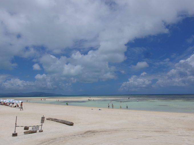 見たこともないような美しさの竹富島コンドイ浜