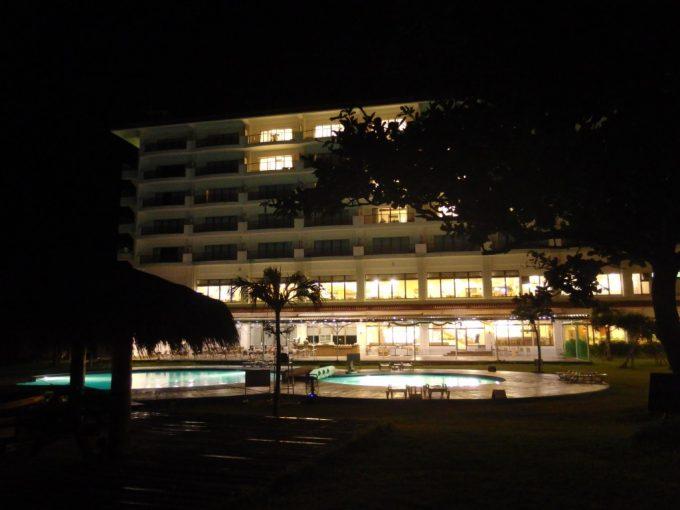 石垣シーサイドホテル台風接近情報に早めにチェックアウトする人たちも