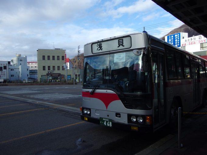 南越後観光バス浅貝行き