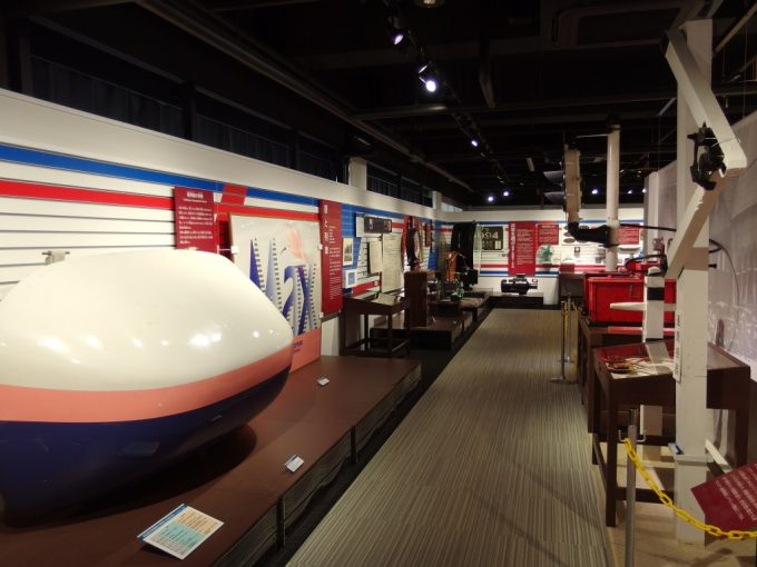 新津鉄道資料館見どころたくさんの展示物