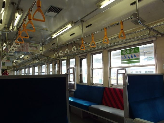 磐越西線キハ47車内