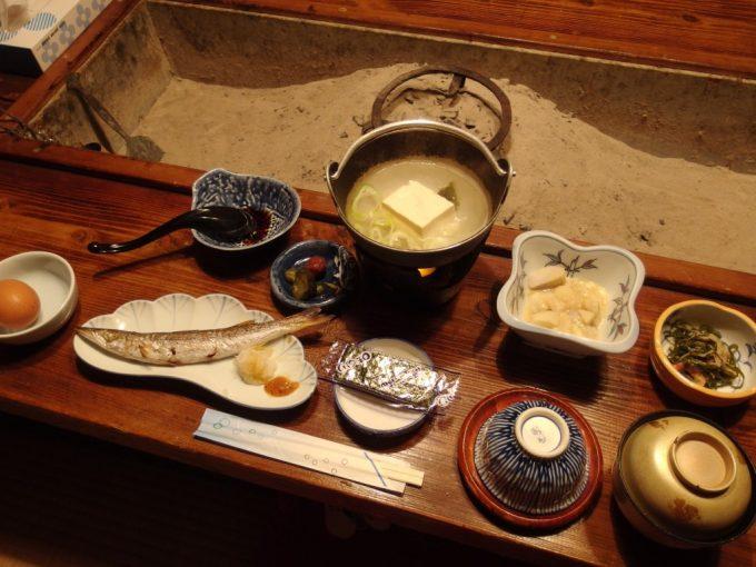 咲花温泉ホテル丸松朝食