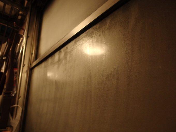 SLばんえつ物語トンネルの中は夜汽車の風情