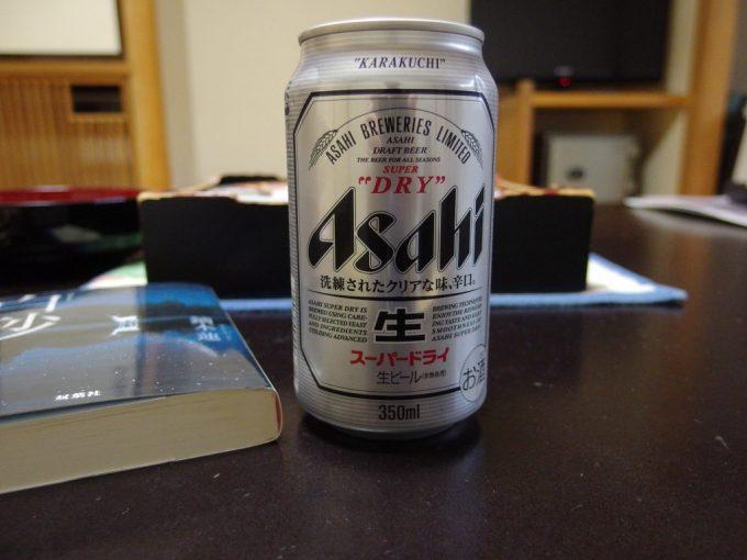 大塩裏磐梯温泉ホテル観山湯上がりに冷たいビール